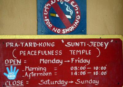 Watpa Phoulphao - Peacefulness Temple, Luang Prabang, Laos