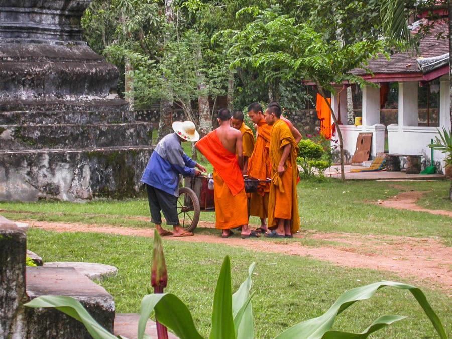 Wat Thakmo and Wat Aham, Luang Prabang