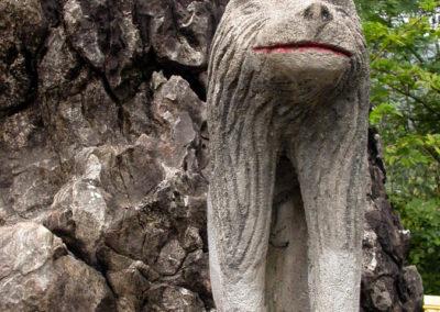 Wat Tham Phousi, Luang Prabang, Laos - Lion Statue