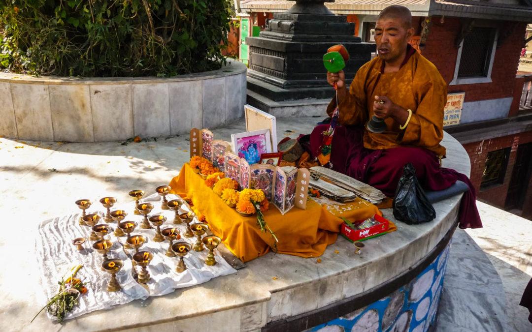 Swoyambunath Stupa, Nepal