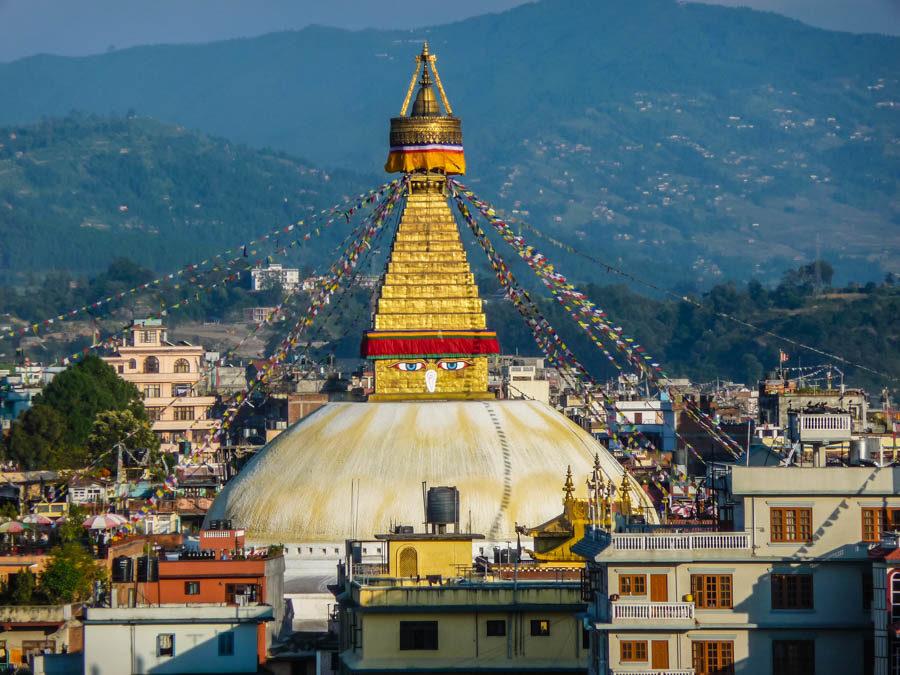 Boudhanath Stupa, Kathmandhu, Nepal