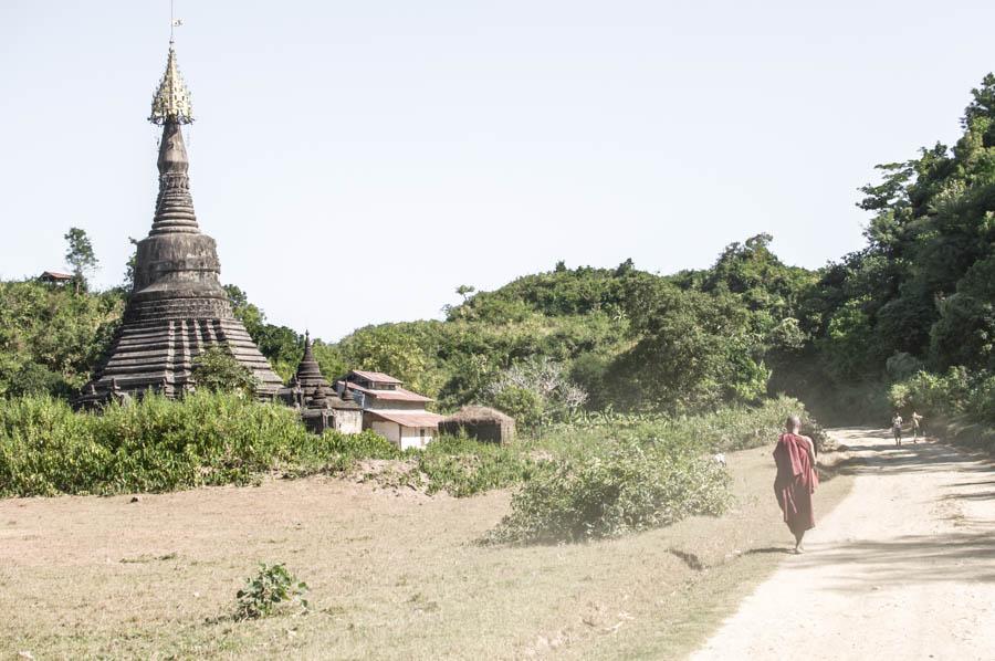 Mingala Manaung, Mrauk U, Rakhine State, Myanmar (Mrauk U Kingdom Late Phase)