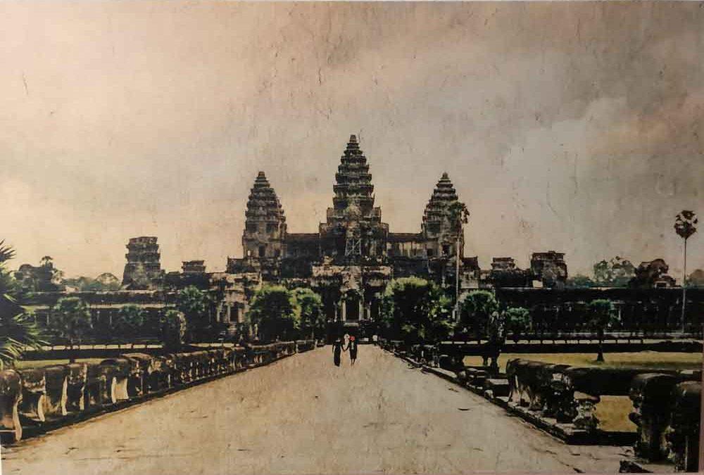 Angkor Temples, a cultural treasure